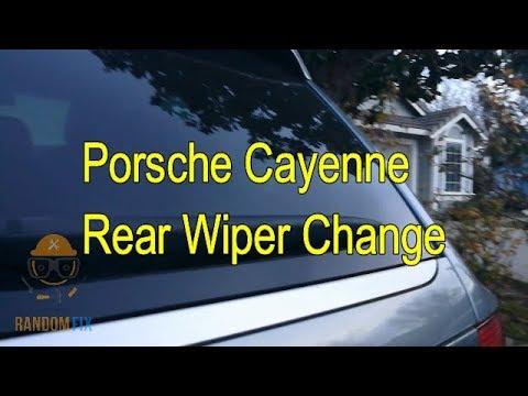 ▶️How to Change Porsche Cayenne Rear Wiper 2003 2004 2005 2006 2007 2008 2009 2010 Audi Q7 Touareg