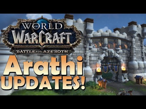 Arathi Highlands Zone Updates (After Warfronts) | Battle for Azeroth