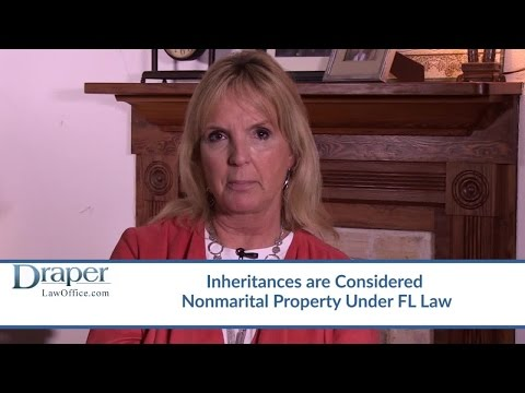 Will My Spouse Receive Half Of My Inheritance If We Get Divorced? – FL Attorney Linda Gruszynski
