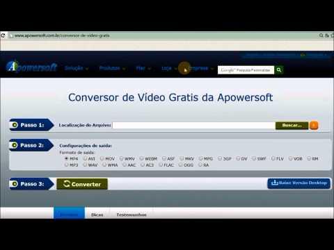 Como converter um arquivo WLMP para WMV, MP4 e AVI