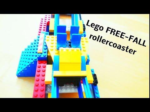 Lego FreeFall Rollercoaster