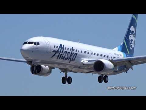 New Alaska Boeing 737-900ER N275AK Arrival @ KPAE for Upgrades