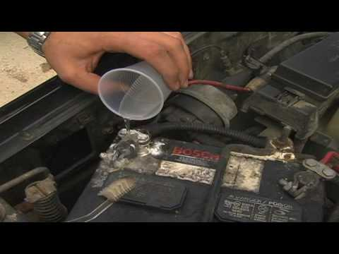 Car Maintenance : How to Clean a Car Battery