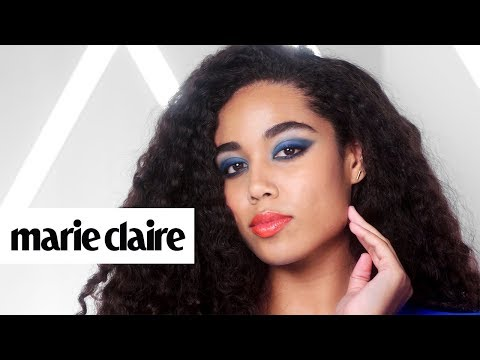 Tangerine and Teal: The Gorgeous Makeup Pairing You Never Thought to Try | Marie Claire + Avon