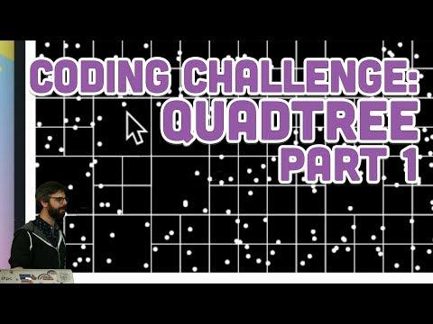 Coding Challenge #98.1: Quadtree - Part 1