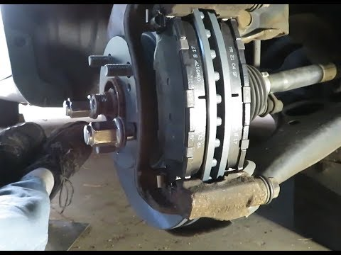 How to do a Front Brake Job on a Toyota Corolla