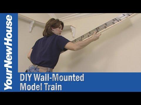 Wall Train Track DIY (#5153)