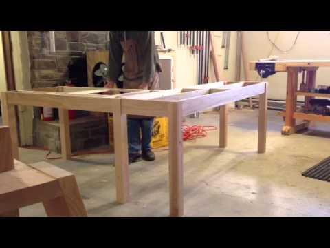 L-shaped desk design
