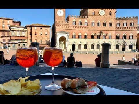 From Bologna to Siena, Italy