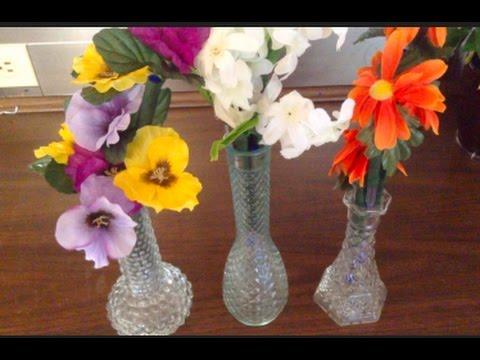 #455 - D.I.Y./ Floral Bud Vase Pens
