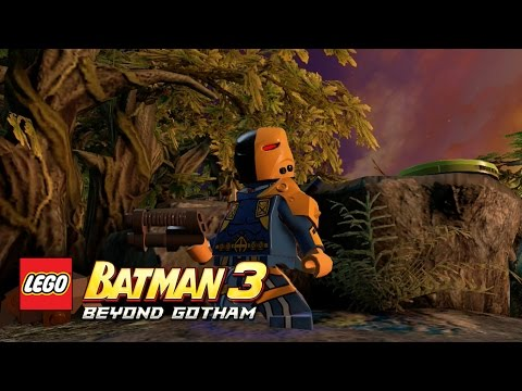 LEGO Batman 3: Beyond Gotham - Deathstroke (The Squad) Okaara free roam