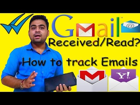 How to || Track || Gmail || Yahoo || Emails || Get Notification || Double Blue Ticks || Hindi