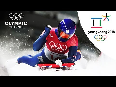 Lizzy Yarnold's Skeleton Highlight | PyeongChang 2018