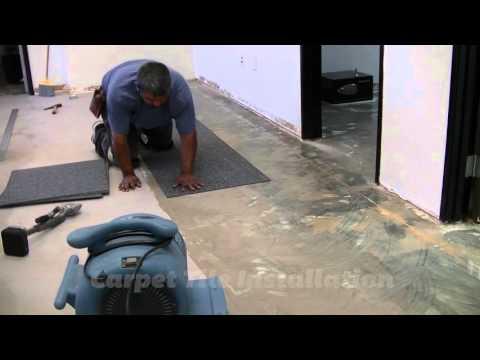 Carpet Tile Installation