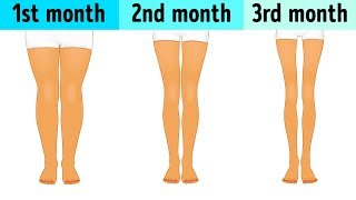 3-Minute Workout Before Sleep to Slim Down Your Legs