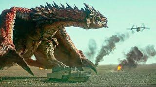Monster Hunter (2020) Dragon vs Helicopter, ending battle
