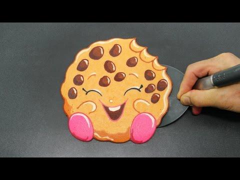 Making Shopkins Kooky Cookie PANCAKE
