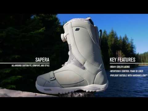 K2 SAPERA—2018 Snowboard Boots