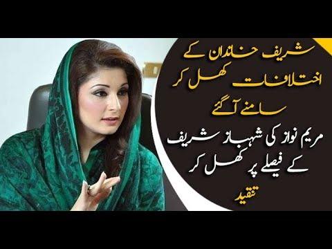 Xxx Mp4 Maryam Nawaz REJECTS Shahbaz 39 S Policies 3gp Sex
