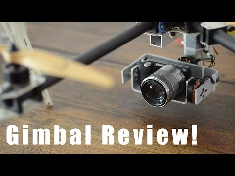 Drone DIY Brushless Gimbal Review! For Sony NEX 5n