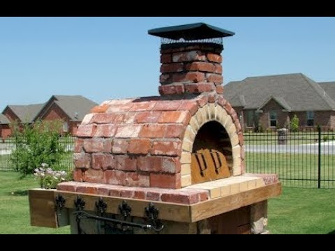 How to Build the Mattone Barile Wood-Fired Outdoor Brick Pizza Oven by BrickWood Ovens