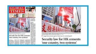 """Loi sur la sécurité nationale à Hong-Kong: """"Le principe un pays, deux systèmes est préservé"""""""