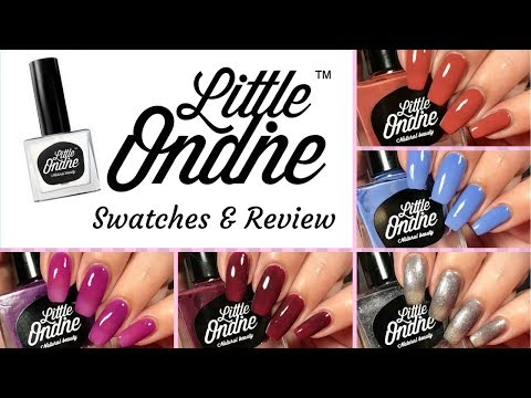 Little Ondine: Swatches/Review
