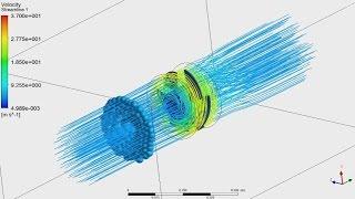 Tutorial ANSYS CFX   Calculation an Axial Flow Pump - Part 1