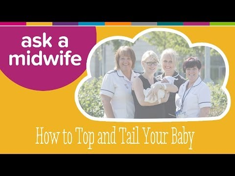 How to Top and Tail - Ask a Midwife | Kiddicare