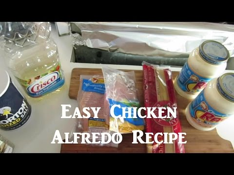 Chicken Fettuccine Recipe! -- Tuesday Tophat
