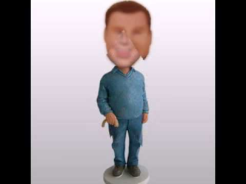www.dollbobble.com - create your own bobblehead|cake topper bobbleheads