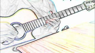 """Chura Liya/ Yaadon Ki Baraat"" Guitar Solo Fingerstyle"