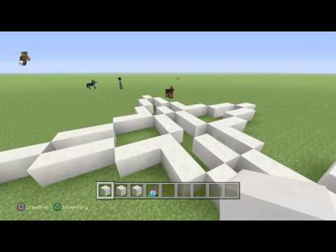 | Part 1 | How to build server spawns!|Minecraft PS4 Edition |