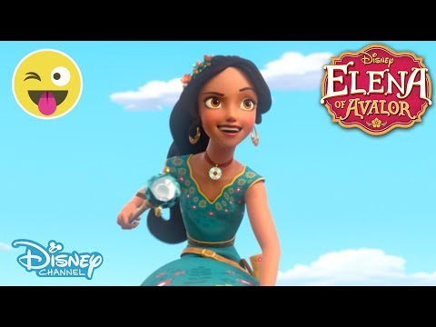 Elena of Avalor | The Heist - Scepter Training with Zuzo | Official Disney Channel UK