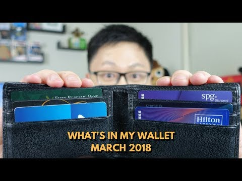 What's in My Wallet? March 2018 Edition