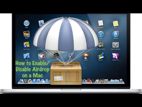 How to Enable/Disable Airdrop on a Mac