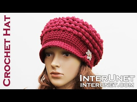 Hat crochet tutorial for beginners. Part 1 of 2