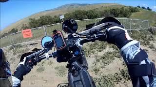 HadesOmega Rides Sur Ron Light Bee on Sierra Road Uphill