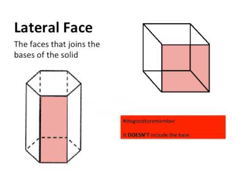 Shapes In Space PowerPoint | Lateral Face