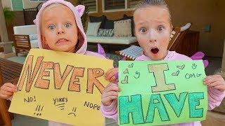UNICORN SISTERS PLAY NEVER HAVE I EVER! 😬 Shocking Secrets Revealed!