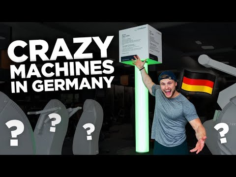 Crazy Training Machines in Germany! (& How I'm Fixing My Deadlift)