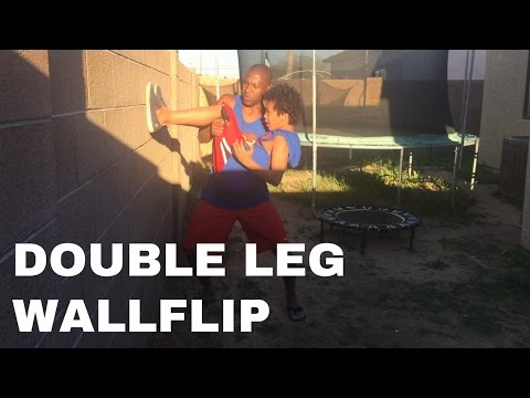 How To Progress From Backflip To Double Leg Wall Backflip