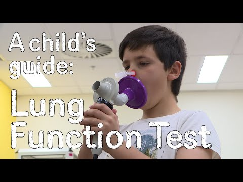 Having a Lung Function Test (Spirometry)