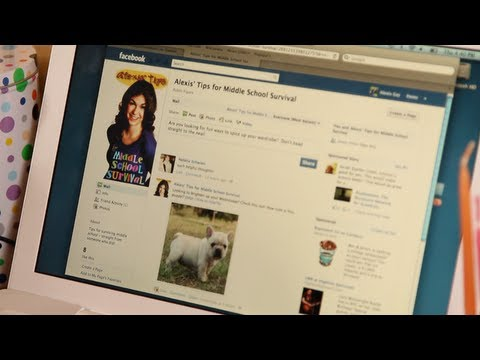 How to Get Permission to Use Facebook | Middle School