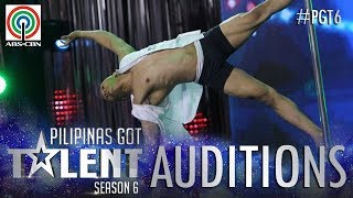 Pilipinas Got Talent 2018 Auditions: Johnny Villanueva - Pole Dancing