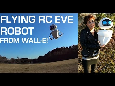 Wall-E EVE FLYING RC ROBOT 飛行ロボット