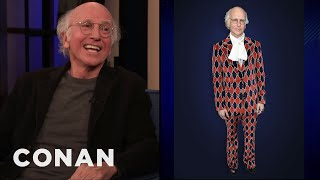 Larry David's Alternate GQ Looks - CONAN on TBS