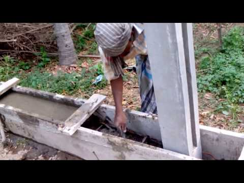 Erecting a Concrete Fence with Plinth Beam DIY