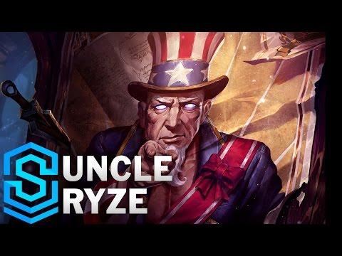 Uncle Ryze Skin Spotlight - Pre-Release - League of Legends