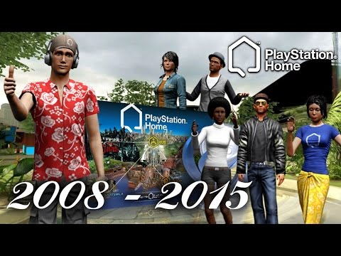 REMEMBERING PLAYSTATION HOME!!! PS HOME ONE YEAR GONE!!! PS3 Gameplay
